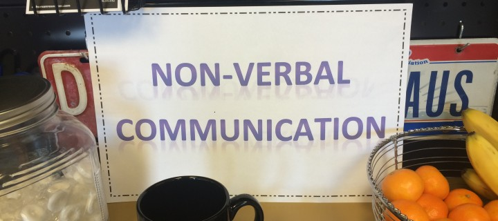 Understanding non-verbal communication