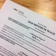 Ohio minimum wage will increase for 2018