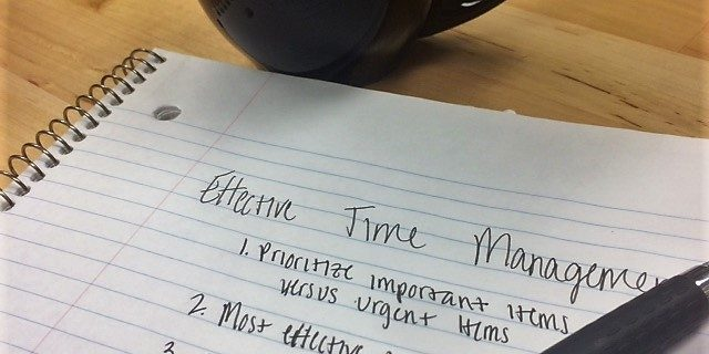 The four principles of effective time management