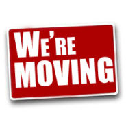 We're moving!…