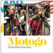 OA supports Motogo bringing shop class back to schools