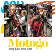 OA supports Motogo bringing shop class back to schools